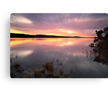 """Saturday Sunset"" Canvas Print"