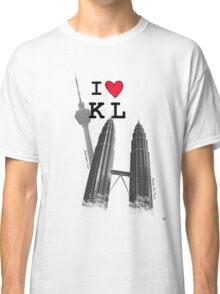I Love KL Tower & KLCC Classic T-Shirt