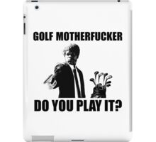 Funny Golf Shirt iPad Case/Skin