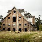 Abandoned Maltings Factory Exterior  by Adara Rosalie
