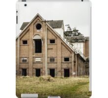 Abandoned Maltings Factory Exterior  iPad Case/Skin