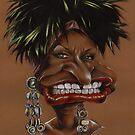 Celia Cruz Caricature by kiko