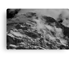 The north face of the Eiger Canvas Print
