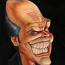 Jack Nicholson caricature by kiko