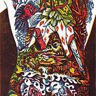 Samurai Warrior Tattoo by Edmund Hodges