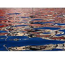 Reflecting Vittoriosa, Malta Photographic Print