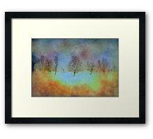 Monet's playground Framed Print