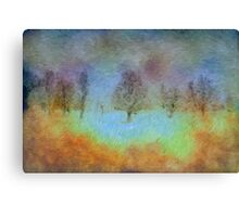 Monet's playground Canvas Print
