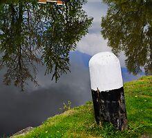 Reflections, Fenniscourt Lock, Bagenalstown, County Carlow, Ireland by Andrew Jones