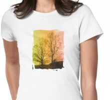 Warm Glow - JUSTART © Womens Fitted T-Shirt