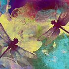 Painting Dragonflies &amp; Orchids. by Vitta