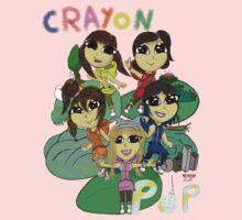 Super Crayon Pop One Piece - Short Sleeve