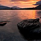 Derwent Water Sunrise, Keswick, Cumbria by David Lewins LRPS