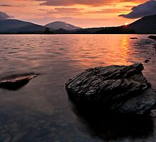 Derwent Water Sunrise, Keswick, Cumbria by David Lewins