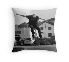 Back Street Heroes Throw Pillow