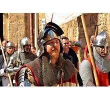 A Teutonic Knight Photographic Print