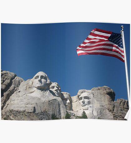 Mount Rushmore, South Dakota Poster