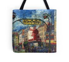 Paris Moulen Rouge Tote Bag