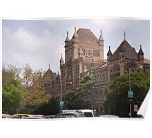 Old Mumbai architecture Poster