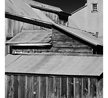 """Just a house"" Bodie CA  Photographic Print"