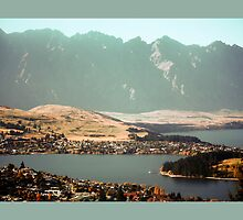 Queenstown, New Zealand by Deb Gibbons