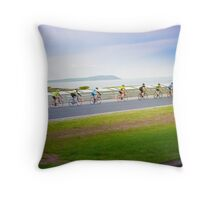 Beautiful day for a ride Throw Pillow