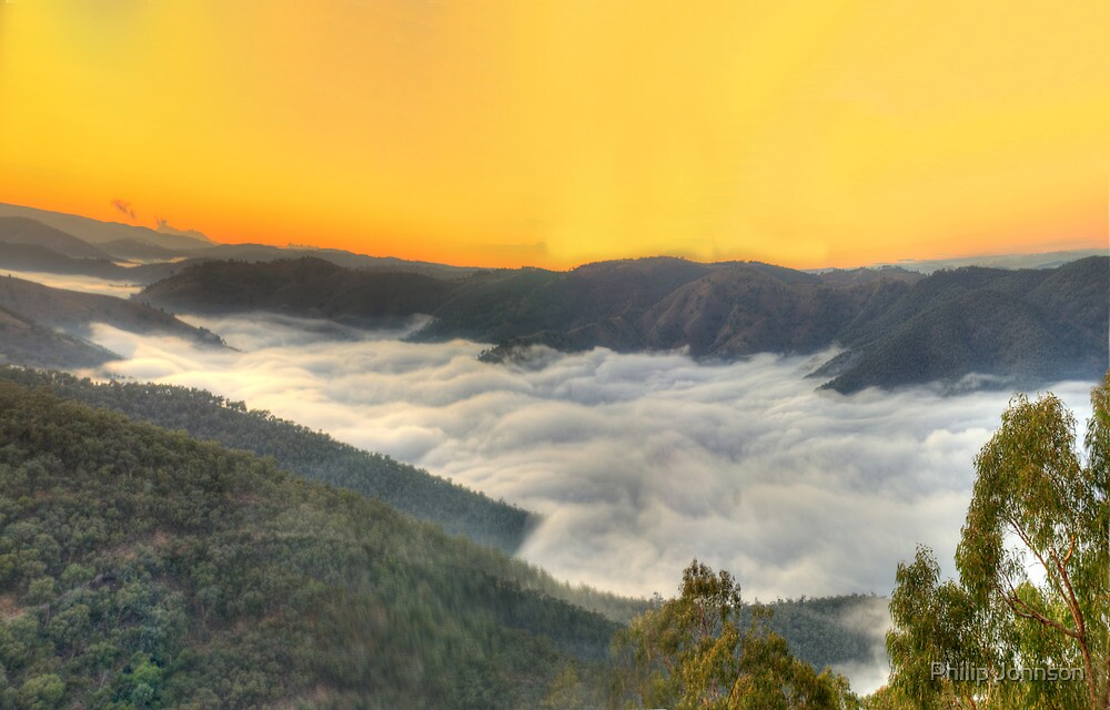 Cloud Surfing, Hill End,NSW - The HDR Experience by Philip Johnson