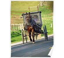 The Amish Highway Poster