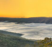 Hidden Valley (20 HDR Panoramic)- Merlin's Lookout, Hill End NSW Australia - The HDR Experience by Philip Johnson