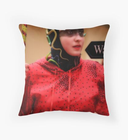 Is that a Snake in your Hat?... Throw Pillow