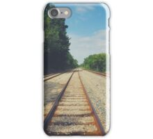 Long Railroad iPhone Case/Skin