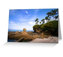 Summer day at Laguna Beach Greeting Card