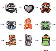 Power Up Evolution Sticker