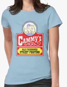 Cammy's Old Fashioned Street Fighting Womens Fitted T-Shirt
