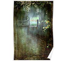 """Autumn Rains ..."" Poster"