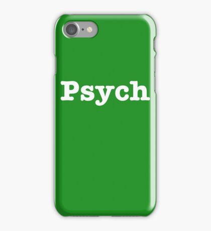 iPhone 5c Psych Phone Case iPhone Case/Skin