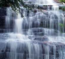 Waterfall Silk at Katoomba Cascades by Michael Vickery