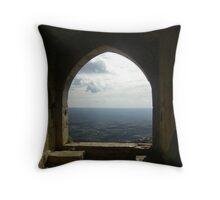 Krac de Chevalier, Syria Throw Pillow