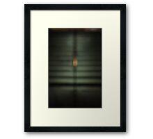 the spine Framed Print
