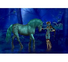 The Warriors Steed Photographic Print