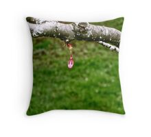 Brave Bud Throw Pillow