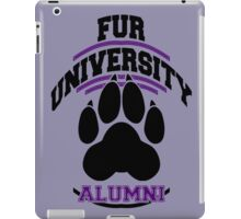 FUR UNIVERSITY -purple- iPad Case/Skin