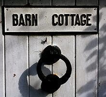 Barn Door - Autumn shadows by electrocub