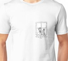 Lonely boy looking in Unisex T-Shirt