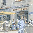 Market Day Coffee Break by ian osborne