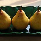 Three Pears by Joanne  Bradley