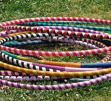 Hula Hoops by Lesley Rosenberg