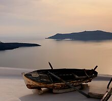 Santorini Dreaming - Thira, Santorini by Ben Prewett
