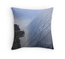 Louvre Forecourt Throw Pillow