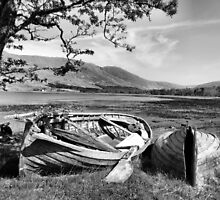 Old boats by ClaireWroe